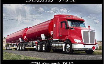SOUND FIX FOR GTM KENWORTH T610 V1.0