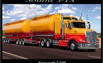 SOUND FIX FOR KENWORTH T609 V1.1