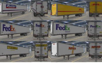 US TRAILERS PACK V1.0 BY PICENO7 1.38.X