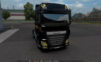 Daf yellow headlights v1.0