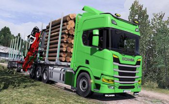 Fix For Scania Next Gen Rigid Forest Parts by Dzulfikar AT 1.38
