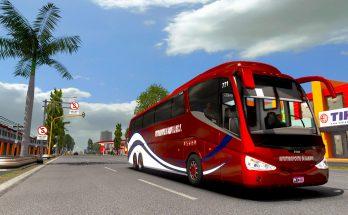 Irizar PB Volvo 6x2 Bus Mod ETS2 1.38