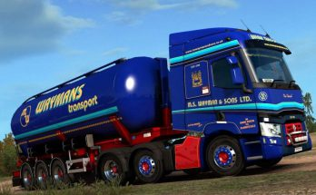 Renault T – Waymans Transport v1.0