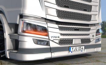 Scania 770S Engine + Badges 1.38