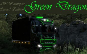 Scania S GREEN DRAGON v1.0