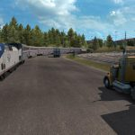 Trains Everywhere (road nightmare) in ETS2 1.38