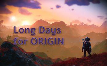 Long Days for Origin