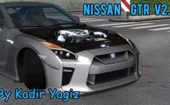 NISSAN GTR R35 V2.1 - UPGRADE - 1.38.X