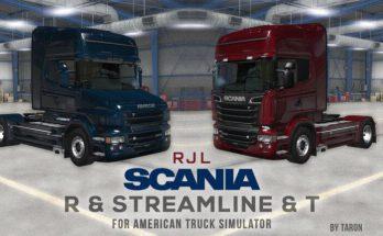 RJL SCANIA R, STREAMLINE & T PORT FOR ATS 1.39