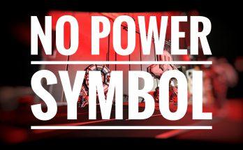 Remove Power Symbol