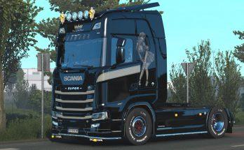 Beauty V8 Skin for Scania S by kRipt v1.1