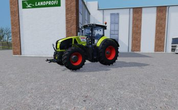 Claas Axion 940 with display functions V 0.2 Beta