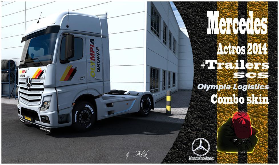 Combo Skins Olympia Logistics v1.0