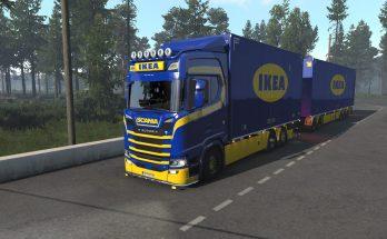 Ikea tandem pack Scania S and R Eugene/Kast v1.1