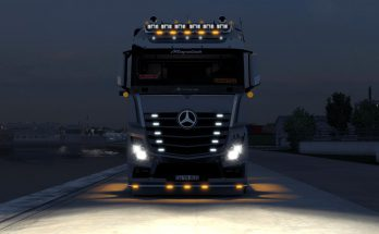 Mercedes Actros MP4 VIP Custom 1.38