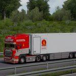 P.Bjarne Andersen Scania 164G 580 + Trailer 1.38
