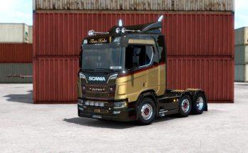 Scania R Theo Hoks skin v1.0