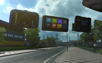 Toll Pass Device, GPS, Speedometer 1.35 to 1.38