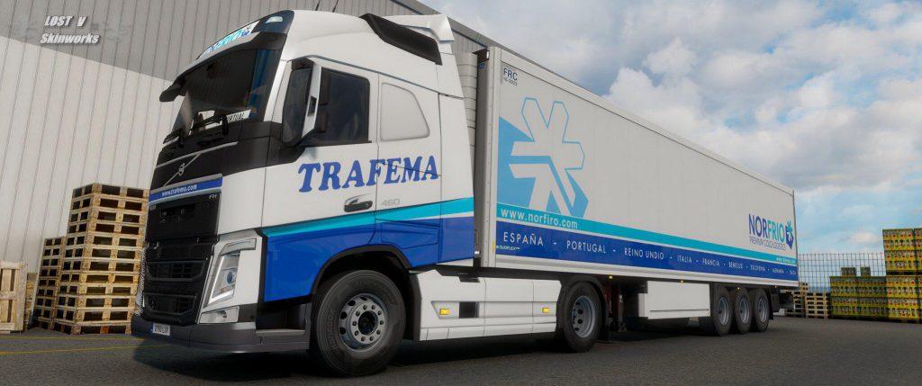 Trafema Transportes Volvo FH Combo Pack v1.0