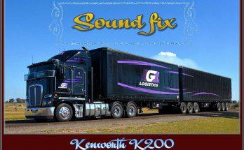 ATS SOUND FIX FOR KENWORTH K200 V1.0