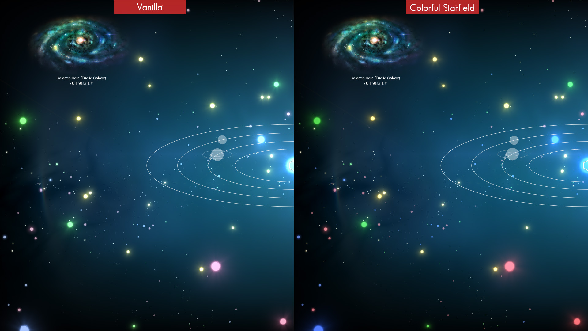 Colorful Starfields 2.0