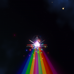 No Rainbow Ship Particles