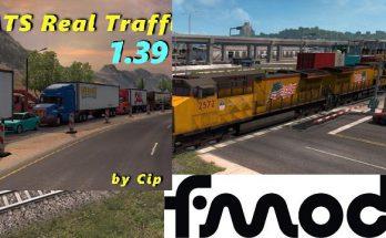 REAL TRAFFIC DENSITY BY CIP ADDON FOR MOD IMPROVED TRAINS V3.6.2