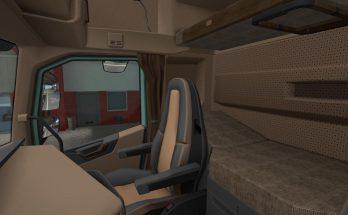 Brown Interior for VOLVO FH16 2012 v1.0