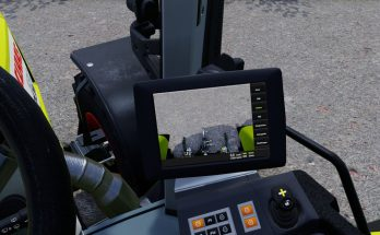 Claas Arion 530 with display functions V 0.4
