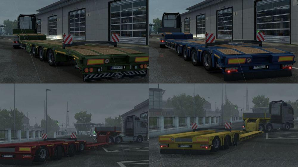 Lift-able axle for lowbed and lowloader v1.0