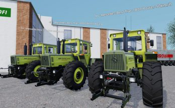 MB Trac 1800 - real transmission ratios v 1.0.2.12