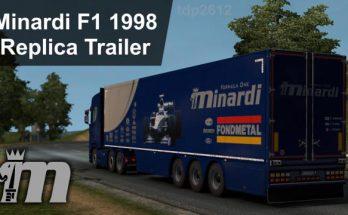 Minardi F1 1998 Replica Transporter Trailer v1.0