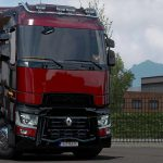 Piano Black parts for Renault T v1.0 1.39
