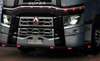 Renault T Blinds Black Paint 1.38 - 1.39