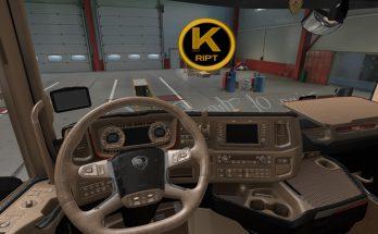 Scania Lux Interior v1.2