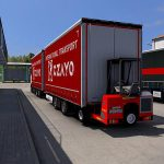 Tandem Krone for Daf XF 105 By Vad&k