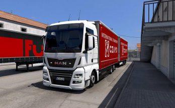 Tandem Krone for Man TGA / TGX / TGX E6 By Madster