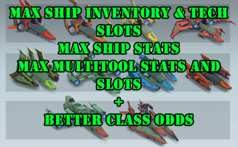 Better Ship and Multitool Slots and Class