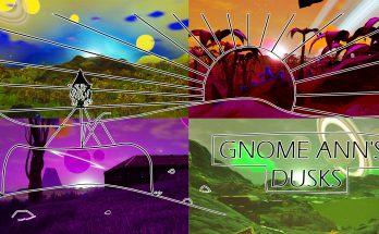 Gnome Ann's Dusks - 1000 New Sunsets