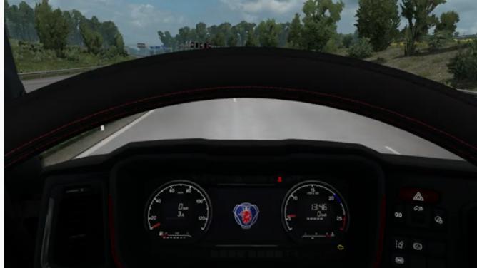Next Gen Scania Custom Dash v1.0