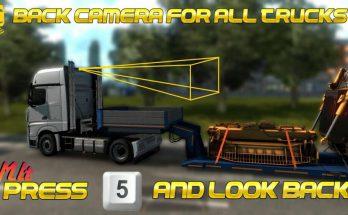 Rear Cameras for all Trucks 1.39.x