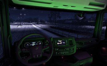 Scania Next Gen RGB Cabin Light 1.39