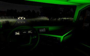 Volvo FH16 2012 RGB Interior Light 1.39