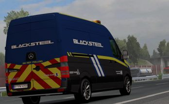 Blacksteel Worldwide Escort Vehicle v1.0