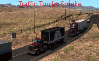 ATS TRAFFIC TRUCKS SMOKE V1.4
