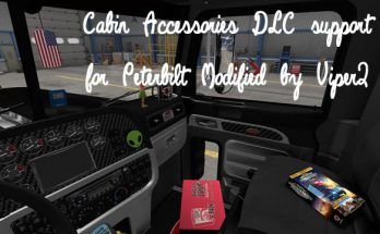CABIN ACCESSORIES DLC SUPPORT PATCH FOR PETERBILT MODIFIED V2.3