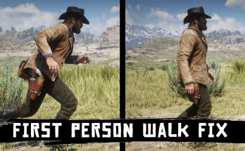 First Person Walk Fix