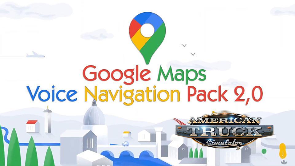 GOOGLE MAPS VOICE NAVIGATION PACK V2.0