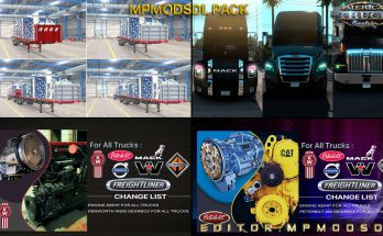 MPMODSDL PACK FOR ATS SINGLE-MULTIPLAYER 1.39