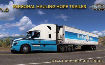 PERSONAL HAULING HOPE TRAILER MOD V1.0